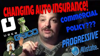 Changing Auto Insurance For Uber!