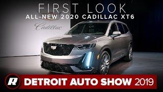 All-new 2020 Cadillac XT6 uncovered | Detroit 2019