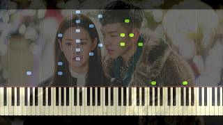 BUNKEY - When I Saw You - A Korean Odyssey OST Part 2 | Piano Tutorial (Synthesia)