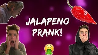 Super SPICY Smoothie prank! *insane*
