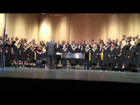 2011-2012 Bentonville High School Chamber and A Cappella Choir - Bridge Over Troubled Water