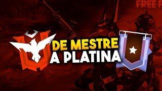RUMO AO PLATINA - FREE FIRE LIVE ON FT. CORINGA