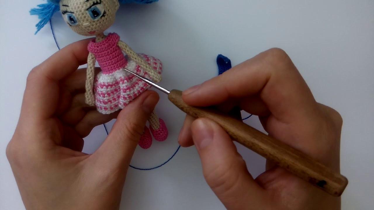 Вяжем куклу на ютубе 141