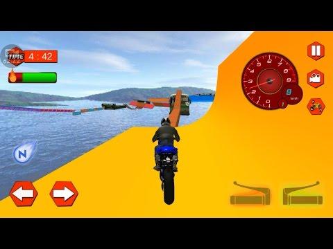 EXTREME BIKE STUNTS MANIA GAME - New Bike Games Download - Motor Cycle Games - Motorbike Boys Games