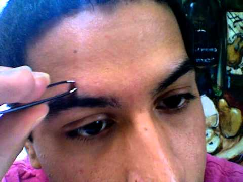 How to Shape Up & Pluck Your Eyebrows (For Men & Women) - YouTube