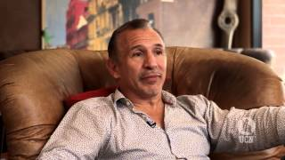 "UCN ORIGINAL SERIES - GLOVES OFF with Ray ""Boom Boom"" Mancini and UCN's Steve Kim"