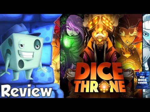 Dice Throne Review - with Tom Vasel
