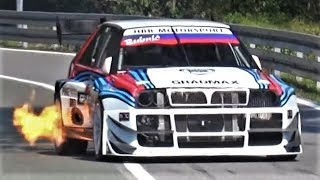 700Hp Lancia Delta Integrale Monster || Brutal Anti-Lag Sound & Flames