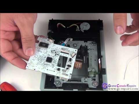 X360SLIM Drive Replacement TX UNLOCKED PCB and flashing stock fw via X360USB PRO & CK3 Lite & Molex