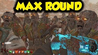 here's what the HIGHEST ROUND of ZOMBIES looks like...