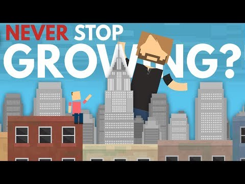 What Would Happen If You Never Stopped Growing?