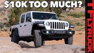 Here Are The Awesome Trucks You Can Buy For The Same Price As The 2020 Jeep Gladiator!