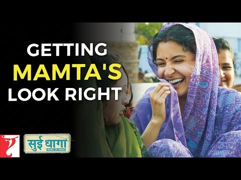 Getting Mamta's Look Right | Sui Dhaaga - Made in India | Anushka Sharma | Varun Dhawan