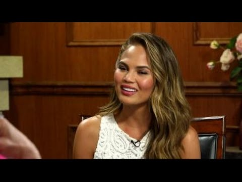 John Legend Was Ironing In His Underwear | Chrissy Teigen | Larry King Now Ora TV