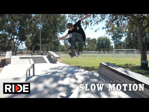 Dave Bachinsky Skateboarding in Slow Motion