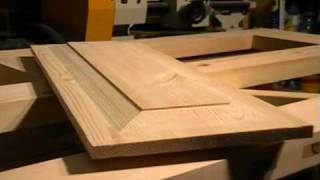 (7.03 MB) DIY 4 Panel wooden Door, part 4.  raised panel cutting with a straight router Mp3