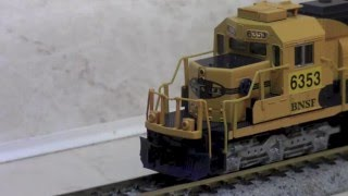 ESU LokSound v4 micro in N scale KATO EMD SD40-2