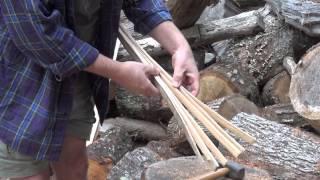 Pounding Ash for Basket Splints HD
