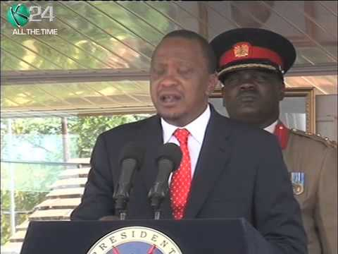 President Kenyatta Cautions Leaders Against Politicizing Security Matters