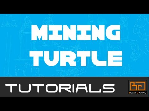 Tekkit ComputerCraft Tutorial: Mining Turtle [How To]
