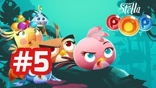 Angry Birds Stella POP - Android Gameplay Walkthrough - Part 5 (Level 21 - 25)