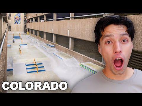 I Found the WEIRDEST SKATEPARK In Colorado