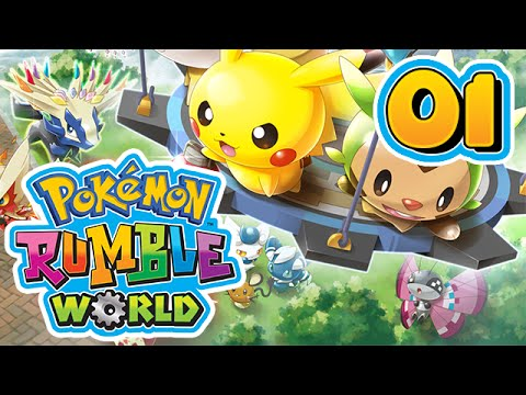 POKEMON RUMBLE WORLD #01 - Le Roi qui saoule !