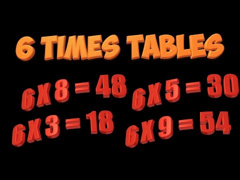 Youtube multiplication song 6 times tables lessonpaths for 11 times table rap