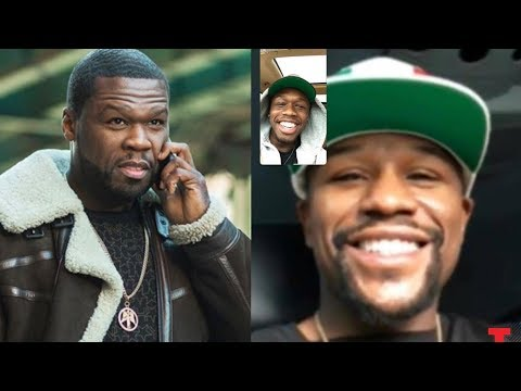 50 Cent Sends Goons To Floyd Mayweather After He Facetimes 50 Cent's Son