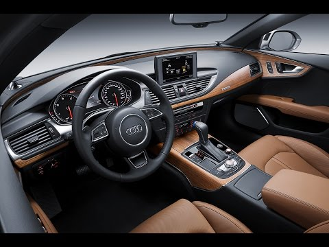 Audi A7 INTERIOR 2015 Sportback Review Commercial CARJAM TV 2014