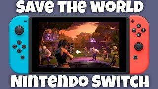 Fortnite Save The World Nintendo Switch Glitch