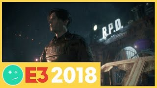 We Played Resident Evil 2! - Kinda Funny Games Impressions E3 2018