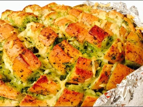 Pull apart Garlic bread – tasty and easy snack – by Pallavi Singh Photo Image Pic