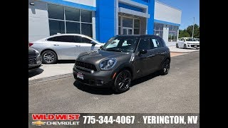 2012 MINI Cooper S Countryman ALL4 Reno, Sparks, Carson City, Fallon, Fernley, Yerington, NV