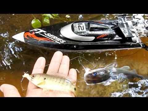 рыбалка с радио корабликом