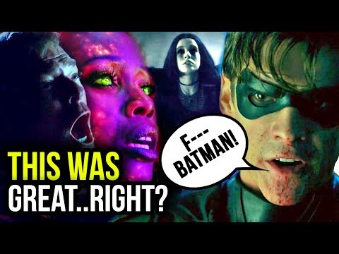F**K BATMAN?! Everything to Note From the OFFICIAL TITANS TRAILER!