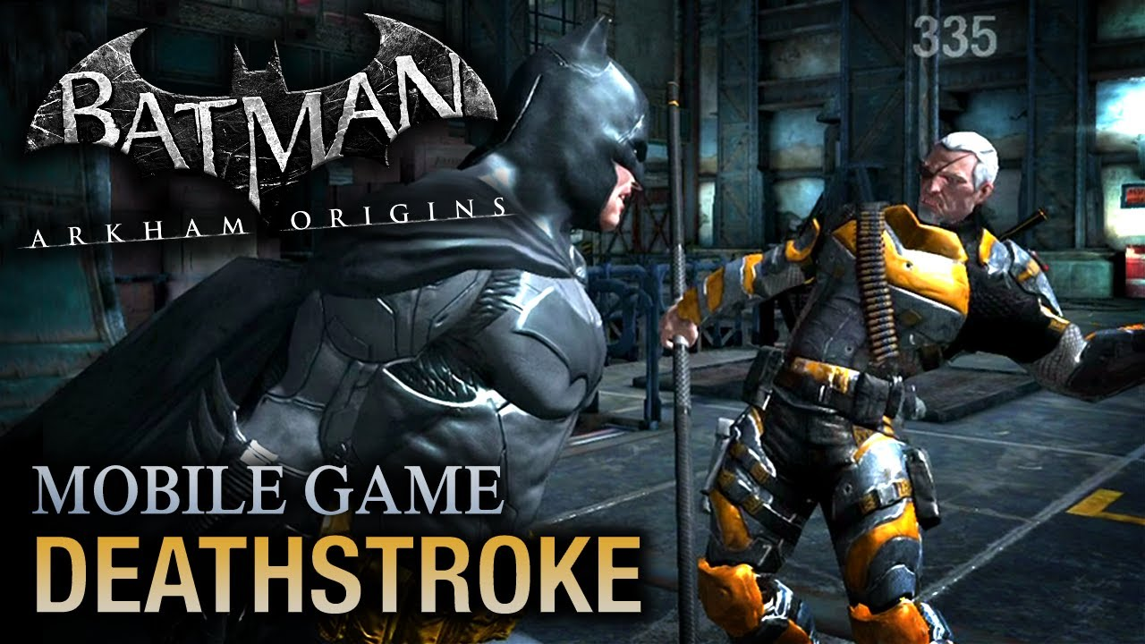 batman arkham origins mobile deathstroke