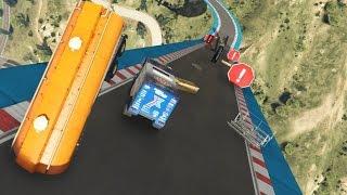 DE DUNE HINDERNISBAAN! (GTA V Online Funny Races)