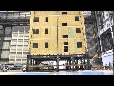 World's Largest Earthquake Test