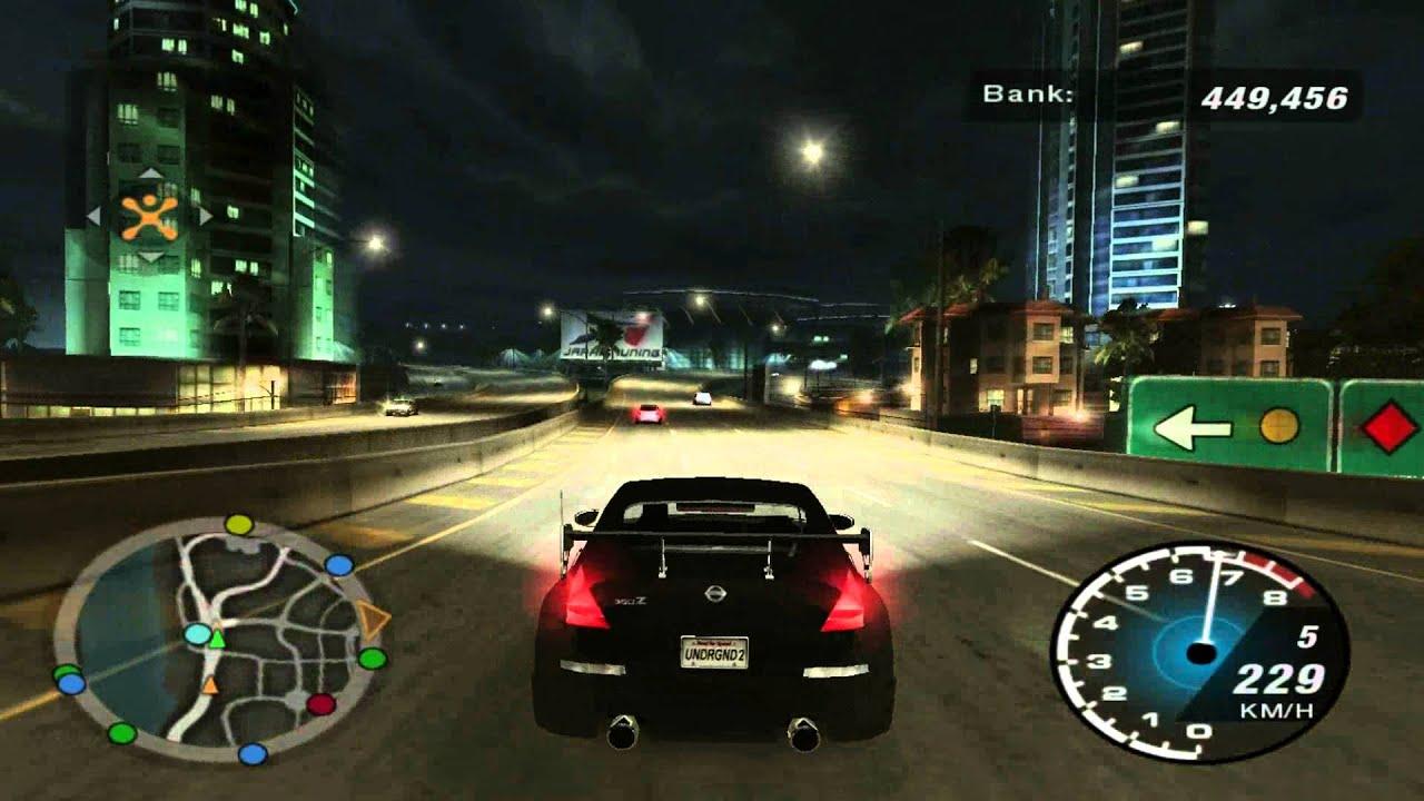 Need for Speed Underground 2 - Nissan 350Z (stock) sound ...