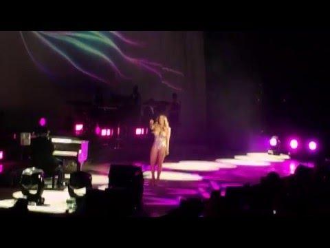 Mariah Carey speaking Swedish, Stockholm Ericsson Globe 02/04/16