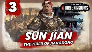 THE TIGER STRIKES! Total War: Three Kingdoms - Sun Jian - Romance Campaign #3