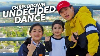 UNDECIDED - Chris Brown Siblings Dance | Ranz and Niana
