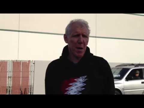 NBA Legend Bill Walton has a message for Travis