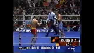 Muay Thai vs Savate (Kickboxing Rules)
