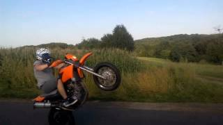 Summer 2015 Yamaha XT660X Burnout, Wheelies, Fun