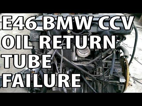 BMW 330i 325i E46 Common CCV Failure P0171 P0174 Quick Preview