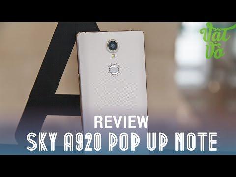 [Review dạo] Đánh giá Sky A920 Pop Up Note