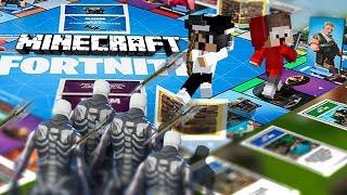 XXL FORTNITE HALLOWEEN SPIELBRETT in Minecraft