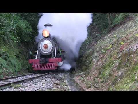 Maria Fumaça 232 em Apiúna/SC - Brasil (steam locomotive)
